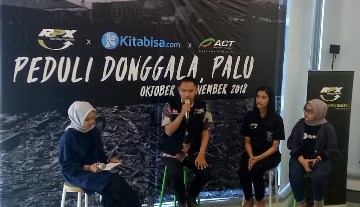Foto Berita RPX Turunkan Armada Bantu ACT dan Kitabisa.com Salurkan Bantuan ke Palu-Donggala