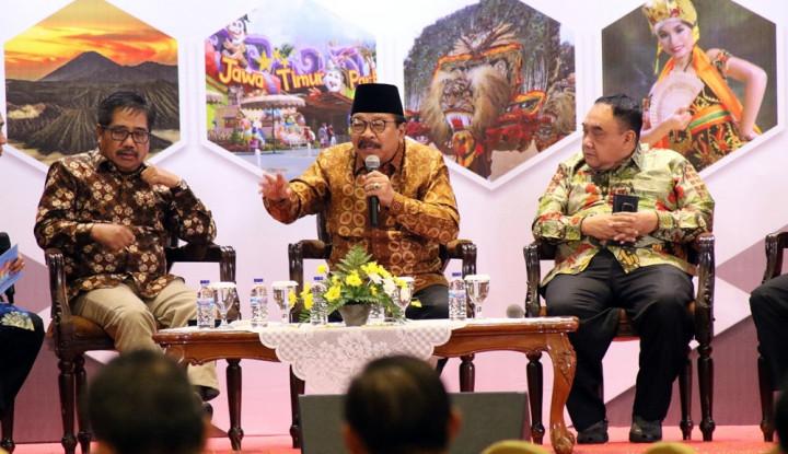 Foto Berita Pakde Karwo: Peran Pers Penting untukMemberdayakan Ekonomi Kerakyatan
