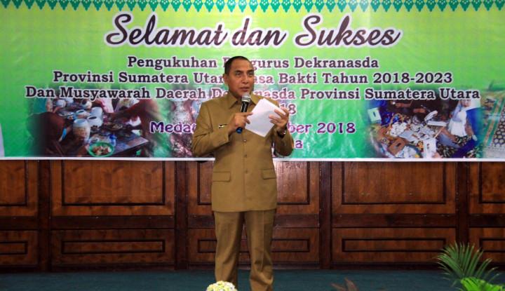 Foto Berita Gubernur Sumut Minta Ini pada Dekranasda