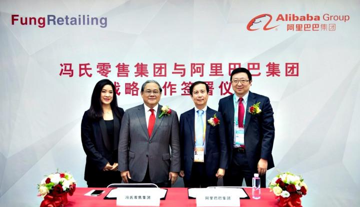 Foto Berita Alibaba Group and Fung Retailing Form Strategic Partnership