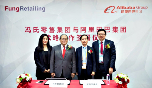 Foto Alibaba Group and Fung Retailing Form Strategic Partnership
