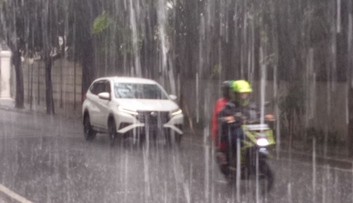 Foto Berita Prabowo: Hati-hati Hujan Lebat Seminggu ke Depan