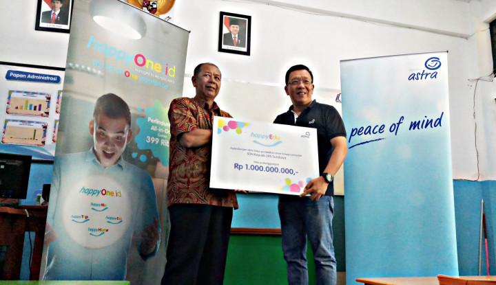 Foto Berita Asuransi Astra Beri Perlindungan Guru SDN 245 Surabaya Senilai Rp1 Miliar
