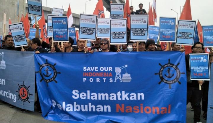 Foto Berita Soroti Pembangunan Pelindo II, FPPI Minta Sistem Outsourcing Dihapuskan