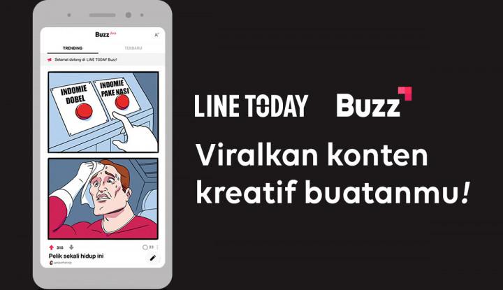 Line Wadahi Penggunanya untuk Unggah Konten Kreatif dalam Fitur Ini - Warta Ekonomi
