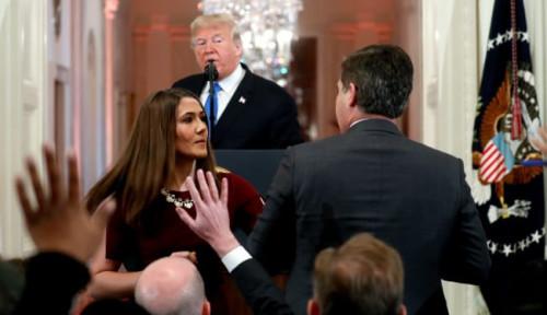 Foto Akses Wartawannya Dicabut di Gedung Putih, CNN Layangkan Gugatan ke Donald Trump