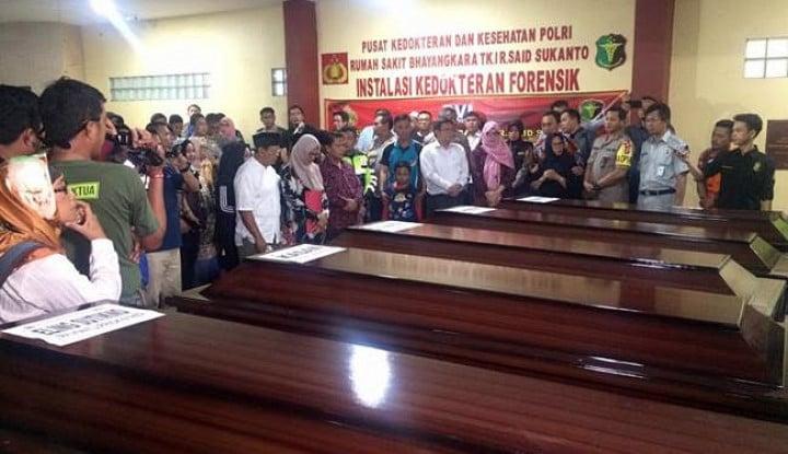 Foto Berita RS Polri Terbitkan Sertifikat Kematian WNA Korban Lion Air