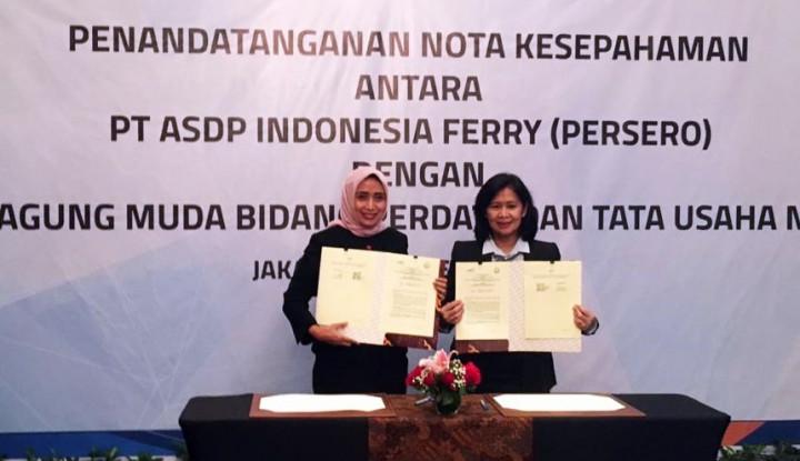 Foto Berita Dorong Tata Kelola Perusahaan Baik, ASDP Indonesia Gandeng Jamdatun