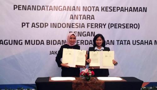 Foto Dorong Tata Kelola Perusahaan Baik, ASDP Indonesia Gandeng Jamdatun