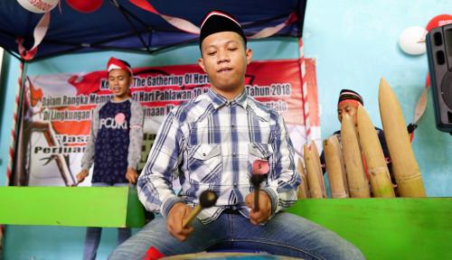 Foto Gathering of Heroes, Cara Lapas Anak Gorontalo Tanamkan Patriotisme