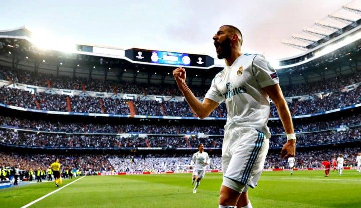 Foto Berita Solari Sukses Bawa Madrid jadi Pemuncak Klasemen Grup G