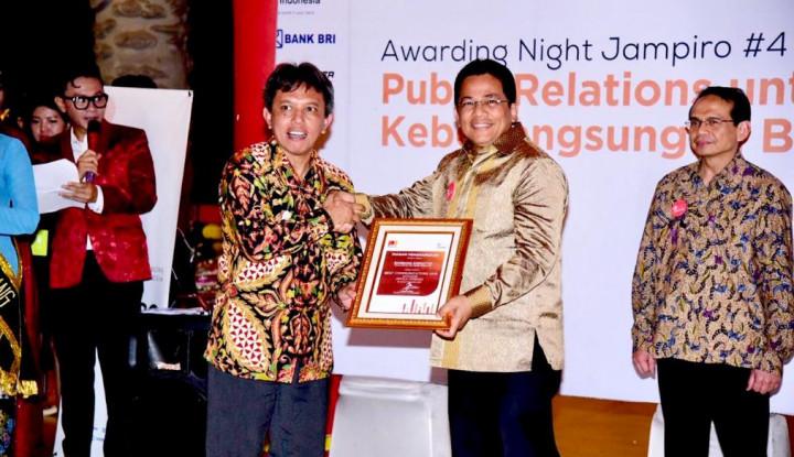 Foto Berita Ketua DPR RI Bambang Soesatyo Mendapat Penghargaan Best Communicators 2018