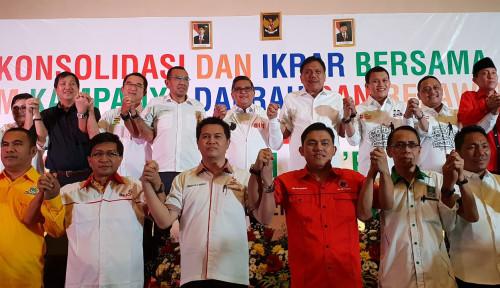 Foto TKD Sulut Targetkan 80% Suara bagi Kemenangan Jokowi-Ma'ruf