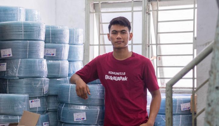 Jual Mesin Cuci Rakitan Sendiri, Mahasiswa Ini Kantongi Keuntungan Hingga Rp800 Juta - Warta Ekonomi