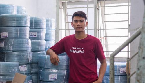 Foto Jual Mesin Cuci Rakitan Sendiri, Mahasiswa Ini Kantongi Keuntungan Hingga Rp800 Juta