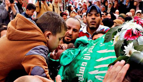 Foto Kejam! Peringatan Wafatnya Arafat, Israel Serang Sekolah Palestina