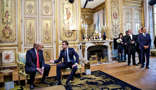 Foto Trump Geram dengan Para Pemimpin Uni Eropa, Ini Alasannya