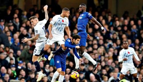 Foto Chelsea Gagal Raih Poin Penuh Lawan Everton