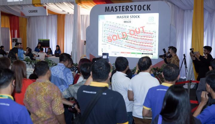 Foto Berita Tahap I, 150 Unit Cluster Dayana Summarecon Ludes Terjual