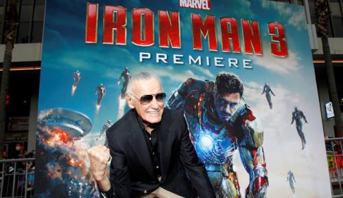 Foto Stan Lee, 'Bapak Superhero Marvel' Meninggal Dunia di Usia 95 Tahun
