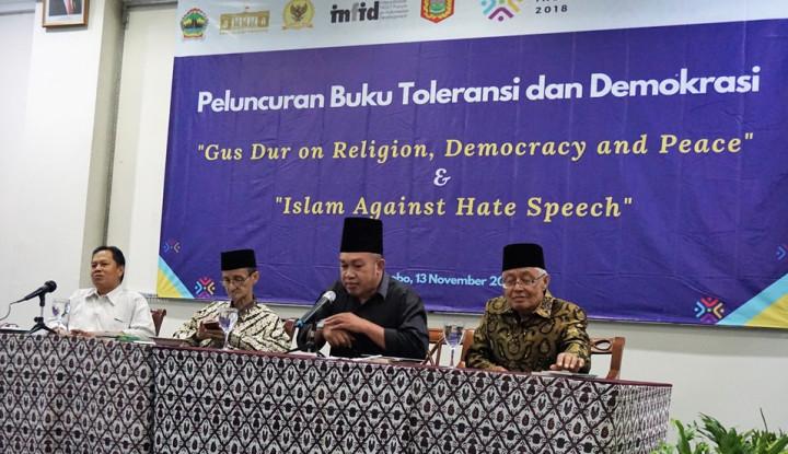 Foto Berita Promosi Gagasan Islam Indonesia ke Mancanegara, INFID-LKiS Luncurkan Buku Karya Gus Dur