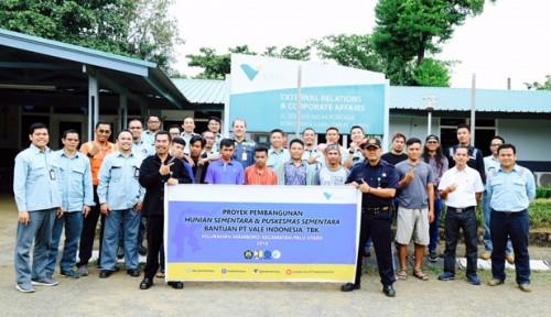 INCO PT Vale Kirim Tim Konstruksi Huntara ke Sulteng