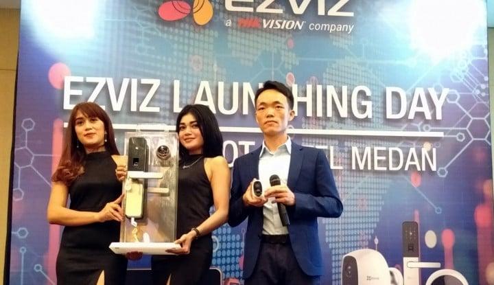 Solusi Smart Home, Ezviz Lirik Pasar Medan - Warta Ekonomi