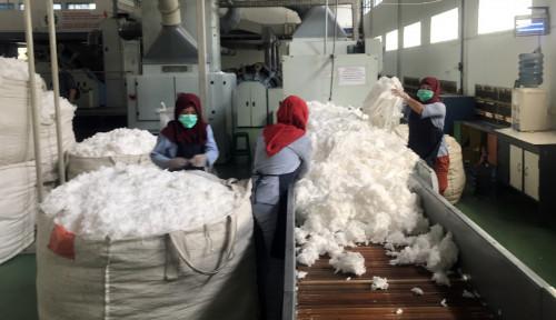 Foto Cottonindo Yakin Kapasitas Produksi Naik 50% Tahun Depan