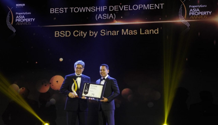 Foto Berita Sinar Mas Land Raih Penghargaan Internasional di Asia Property Awards 2018