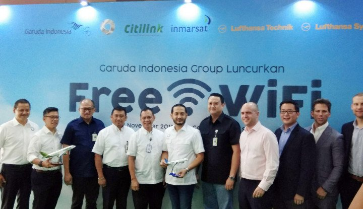 Makin Nyaman di Udara, Garuda Indonesia Group Bakal Hadirkan Free Inflight Connectivity - Warta Ekonomi