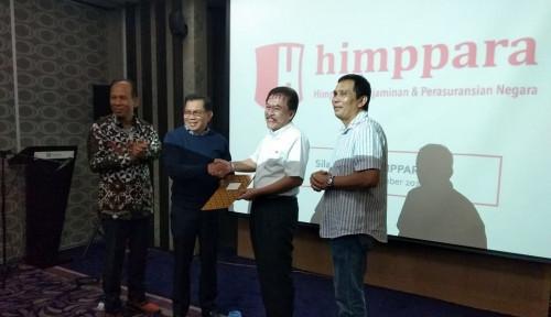 Foto Dirut Jamkrindo Kini Jadi Ketua Himppara