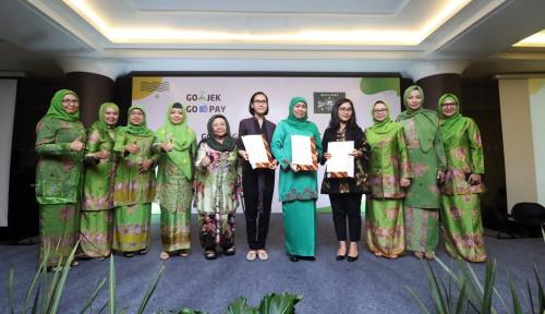 Foto Go-Jek Gandeng Muslimat NU Akselerasi Ekonomi Umat Berbasis Digital