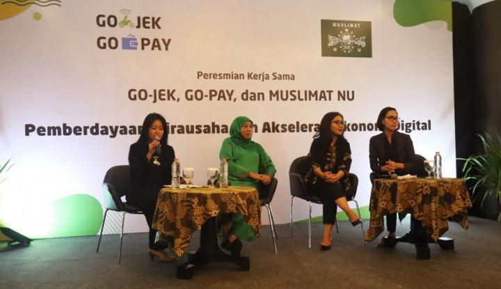 Go-Pay Dorong Digitalisasi Ekosistem NU - Warta Ekonomi