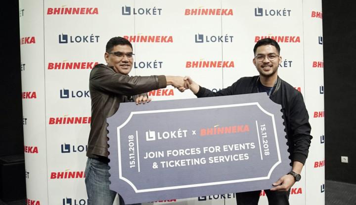 Foto Berita Loket dan Bhinneka Berkolaborasi Perluas Segmen Korporasi di Industri Hiburan Indonesia