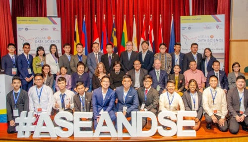 Foto ASEAN Data Science Explorers 2018 Di Singapura, Ini Juaranya
