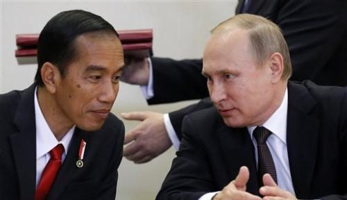 Foto Wow, Putin Kirim Ucapan Selamat kepada Jokowi