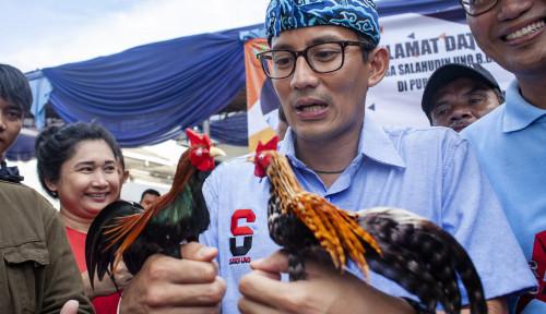 Foto Perusakan Baliho Demokrat, Sandi Ikut Sakit Hati