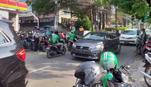 Foto Kemacetan di Wilayah Kantor Operasional Go-Jek Mulai Berkurang