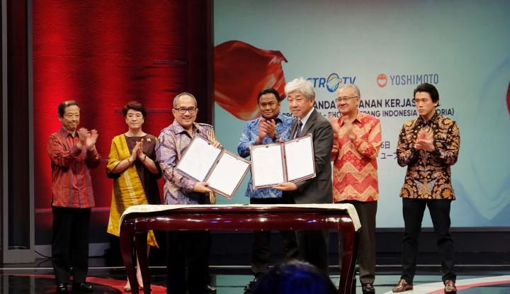 Foto Berita Metro TV dan Yoshimoto Kogyo Eratkan Hubungan Indonesia-Jepang Lewat Ji-Phoria
