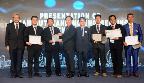 Foto Telkom Sabet Penghargaan di ASEAN Engineering Award 2018