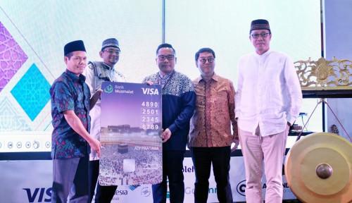 Foto Bank Muamalat Gandeng VISA Luncurkan Kartu 1hram