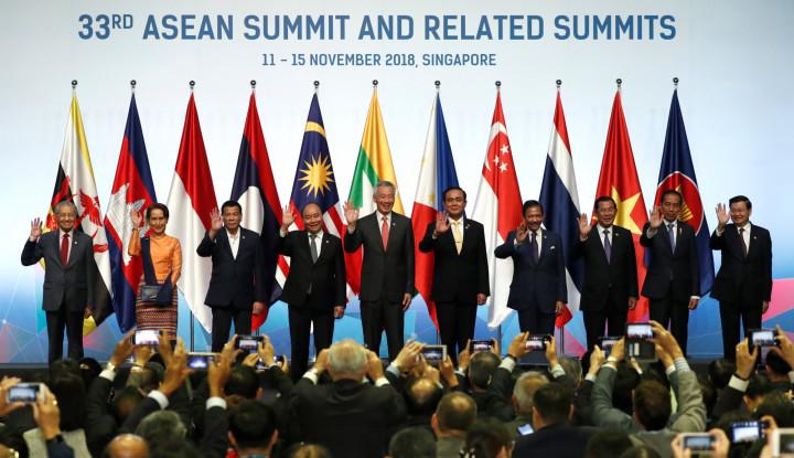 Foto Berita Indonesia Dukung Penyelesaian Konsep Indo-Pasifik ASEAN