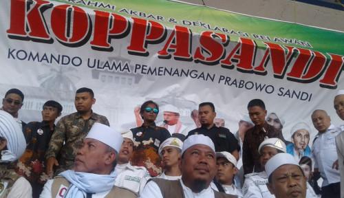 Foto Deklarasi Dukungan, Koppasandi Tak Harapkan Kehadiran Prabowo dan Sandiaga?