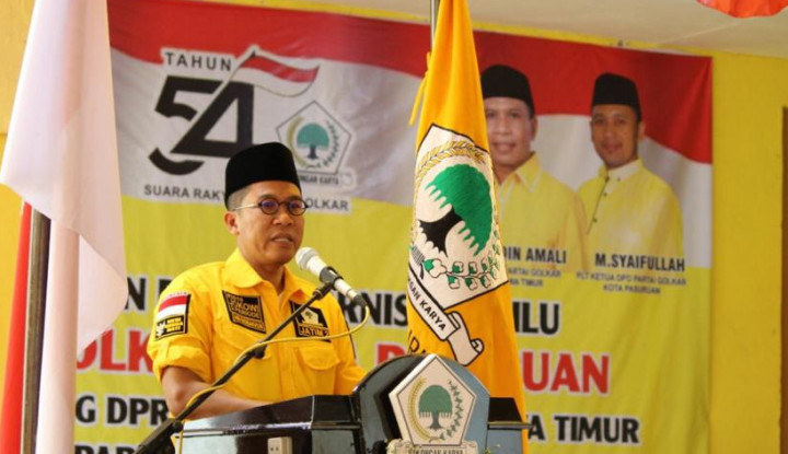 Foto Berita Dua Kali Lolos ke Senayan, Misbakhun Berbagi Ilmu ke Caleg di Pasuruan