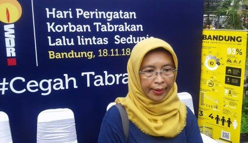 Foto Kecekalaan Lalu Lintas di Bandung Raya Capai 501 Kasus