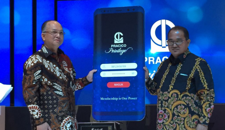 Kospin Pracico Luncurkan Kartu Digital Pracico Privilege - Warta Ekonomi