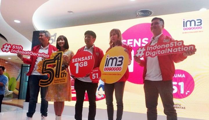 Indosat Tawarkan Paket 1 GB Rp51, Cuma Sampai Rabu Ini - Warta Ekonomi