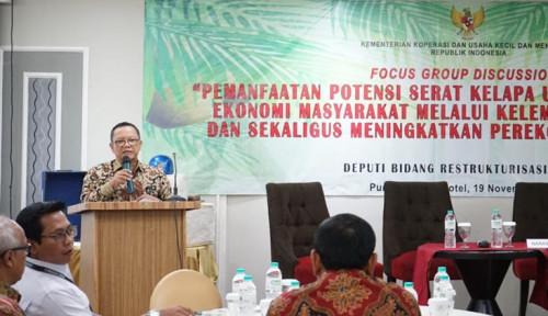 Foto Kemenkop-UKM Dorong Peningkatan Nilai Tambah Serat Kelapa Melalui Koperasi