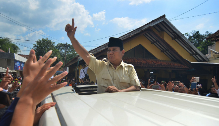 Massa 212 Kian Menurun, Karena Prabowo Joget-Joget? - Warta Ekonomi