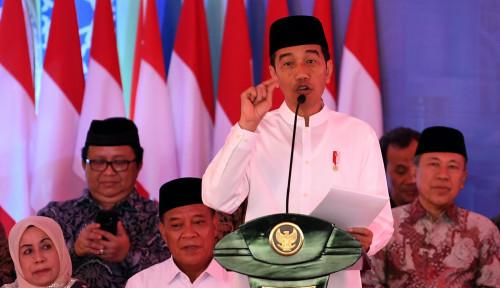 Foto Jokowi Perjuangkan Kepentingan Umat Islam, Misalnya...